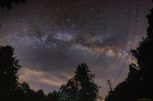 Milky Way over Virginia